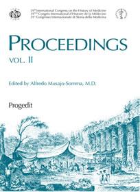 Proceedings 39th International Congress on the History of Medicine   vol. II