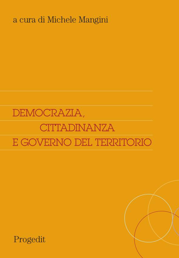 Democrazia, cittadinanza e governo del territorio